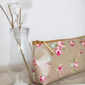Handmade Oilcloth Pencil Case
