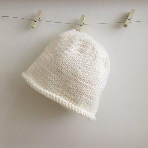 Handmade Newborn Plain Baby Hat