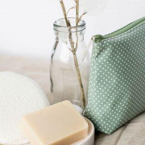 Handmade Oilcloth Washbag