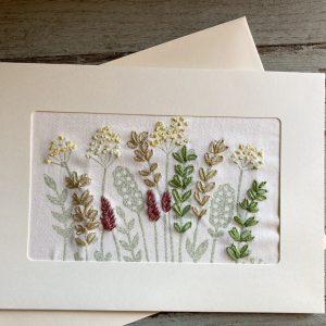 Handmade Harvest Card