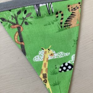 Handmade Children's Bunting: Zoo
