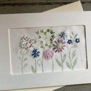 Handmade Summer Border Card