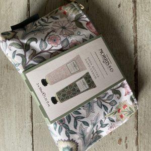 Heathcote and Ivory Cosmetic Bag with Hand Creams